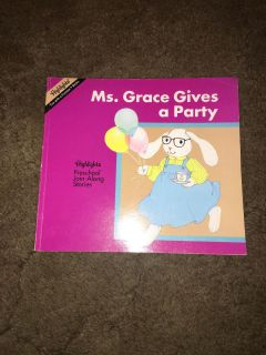 Ms grace gives a party