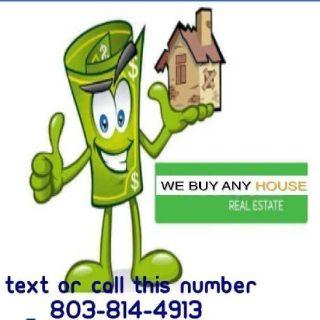 We buy real estate propery