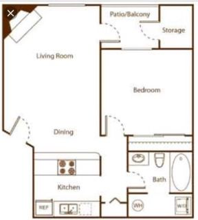 Sublet Apartment for 1br 1bth