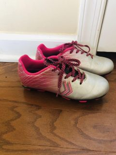 Size 13 girls soccer cleats only used for one season bought brand new $26 asking $5