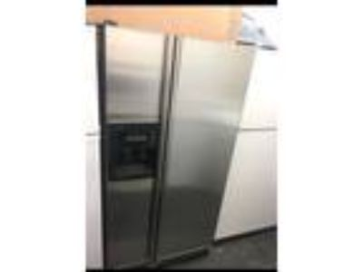 stainless steel Side By Side Kitchen Aid Refrigerator With