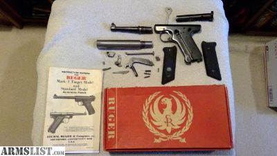 For Sale: Ruger Mark I Parts