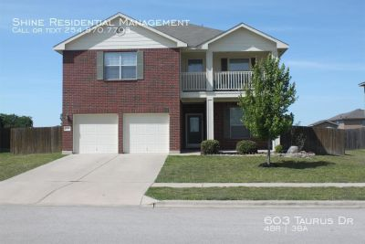 Single-family home Rental - 603 Taurus Dr