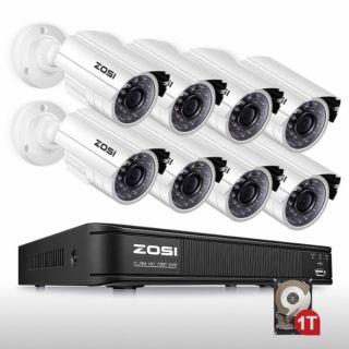 Brand New Indoor/Outdoor Security Camera System!