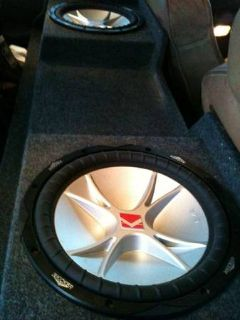 Speakers and speaker box and tool box for sale
