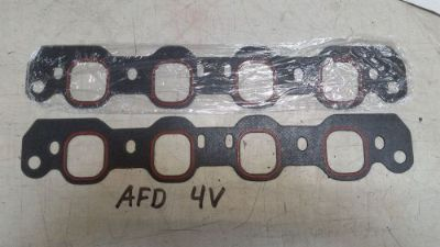 Buy Intake gaskets sides for AFD Air Flow Dynamics 4V heads 351c Cleveland Ford SBF motorcycle in Laingsburg, Michigan, United States, for US $50.00