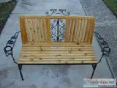 . CedarMetal Bench