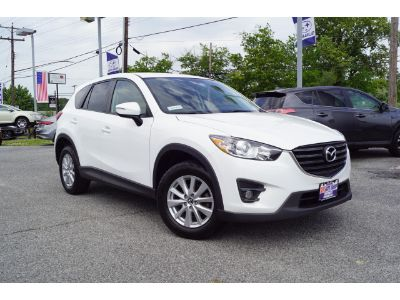 2016 Mazda CX-5 Touring (Crystal White Pearl)