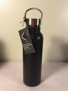 NWT Dashing Gifts Stainless steel water bottle, 20 ounce. Retail $9.99