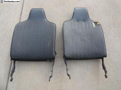 Volkswagen Beetle Front Seat Backs 1970