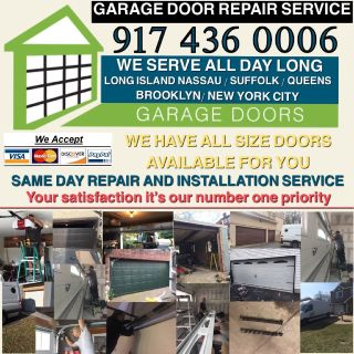 GARAGE DOOR REPAIR SERVICE NEW INSTALL ALL OVER NEW YORK