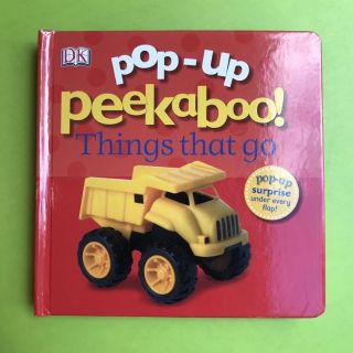 Pop up Things That Go book