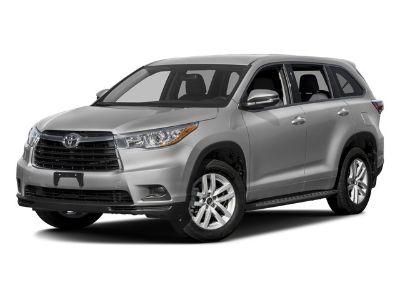 2016 Toyota Highlander LE (Silver)
