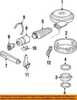 Find NEW GM OEM Air Intake-Extension Seal 76-81 GM Vehicles GM# 25511809 motorcycle in Reading, Pennsylvania, United States, for US $15.53