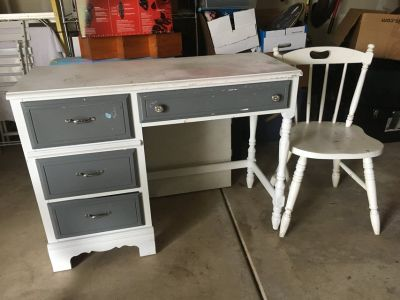 Desk - project piece - girls room