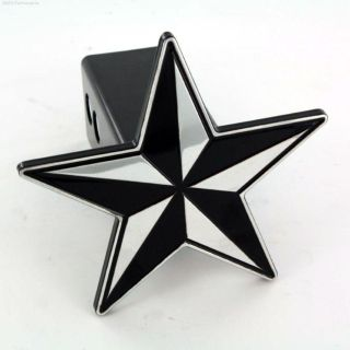 Purchase All Sales 1014K Trailer Black Star Hitch Plug Cover 2 Inch square receiver motorcycle in Arlington, Texas, US, for US $29.85