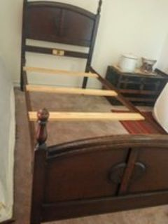 Antique TWIN bed