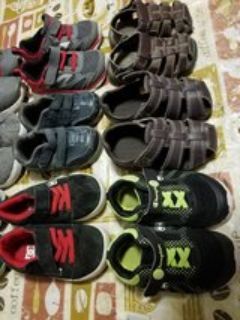 toddler boys shoes size 5-7