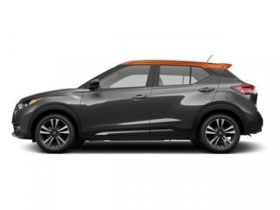 2018 Nissan Kicks SV (Gun Metallic/Monarch Orange)