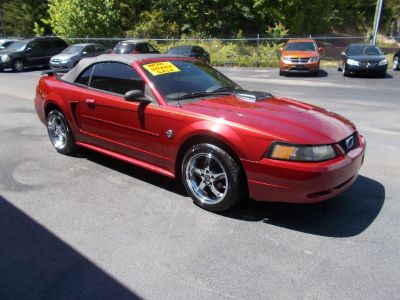 2004 Ford Mustang Deluxe (Red)