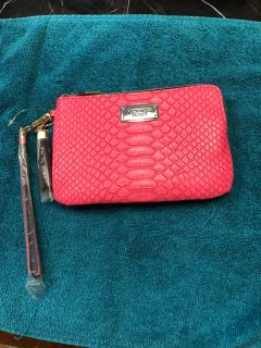 Victoria s Secret pink wristlet brand new with tags
