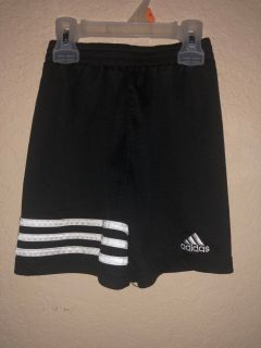 Adidas Black and White Sports Gym Shorts. Nice Condition. Size 4