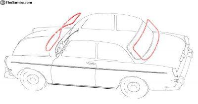 New Notchback Window Trim Kit With Pop-Outs