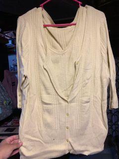 Lane Bryant Sweater Set