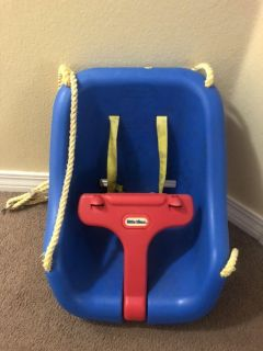 Baby seat for swingset