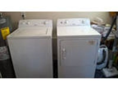 washer and dryer, Hotpoint, very good condition.