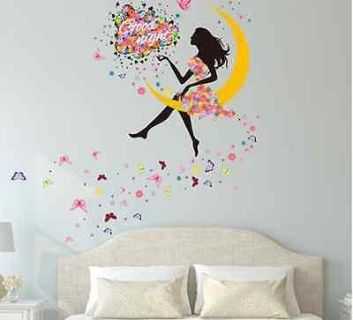 Extra Large Girl's Wall Decal