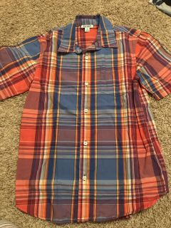 Old Navy plaid - size L