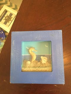 Small Under The Sea Shadow Box Picture