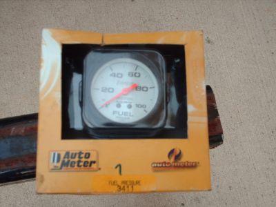2 - autometer 2 5/8th fuel pressure gauges