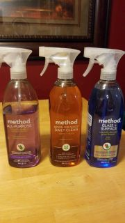 Lot of 3 Method Household Cleaners $10