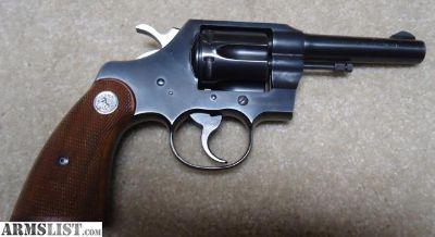 For Sale: Colt Official Police .22LR Revover