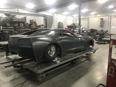 New ljrc drag radial c-7 Vette