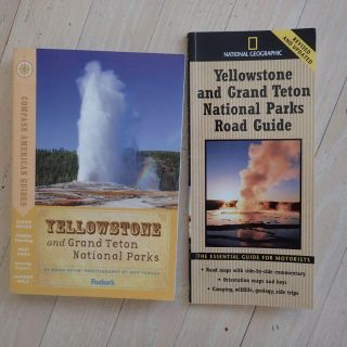 **THIS WEEKEND ONLY!** 2 Yellowstone Park Travel Books