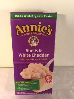 Annie s shells and white cheddar macaroni and cheese