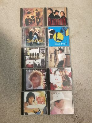 Large selection of CDs for sale