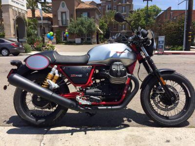 2017 Moto Guzzi V7 III Racer Standard/Naked Motorcycles Marina Del Rey, CA