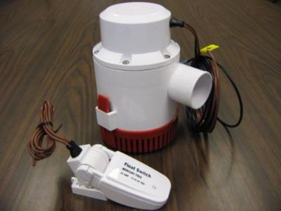 Sell High Flow BILGE PUMP & SWITCH Automatic 4700Gph/12V D motorcycle in Romeoville, Illinois, US, for US $115.00