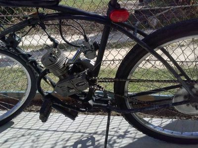 motorized bicycle build or repair (galveston)