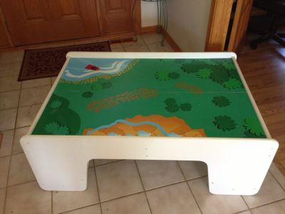 Train/activity table