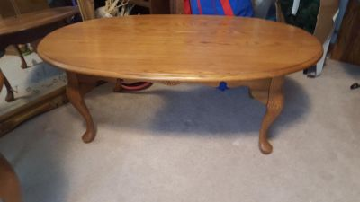Coffee table plus 2 end tables