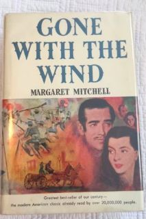 Vintage Gone With The Wind Book Club Edition