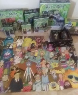 Rick and morty collection! 10+ items!
