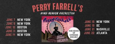 Perry Farrell @ City Winery 6/21/19
