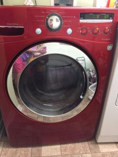 LG front load washer. Available dec 4th