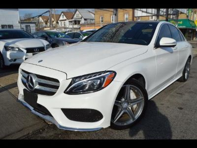 2015 Mercedes-Benz C-Class C300 4MATIC Sedan (White)